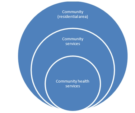 Figure 12 ? Diagram showing the proximity of community health services