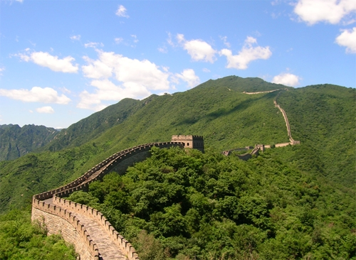 Figure 2 - Great Wall of China (Creative Commons Licence)