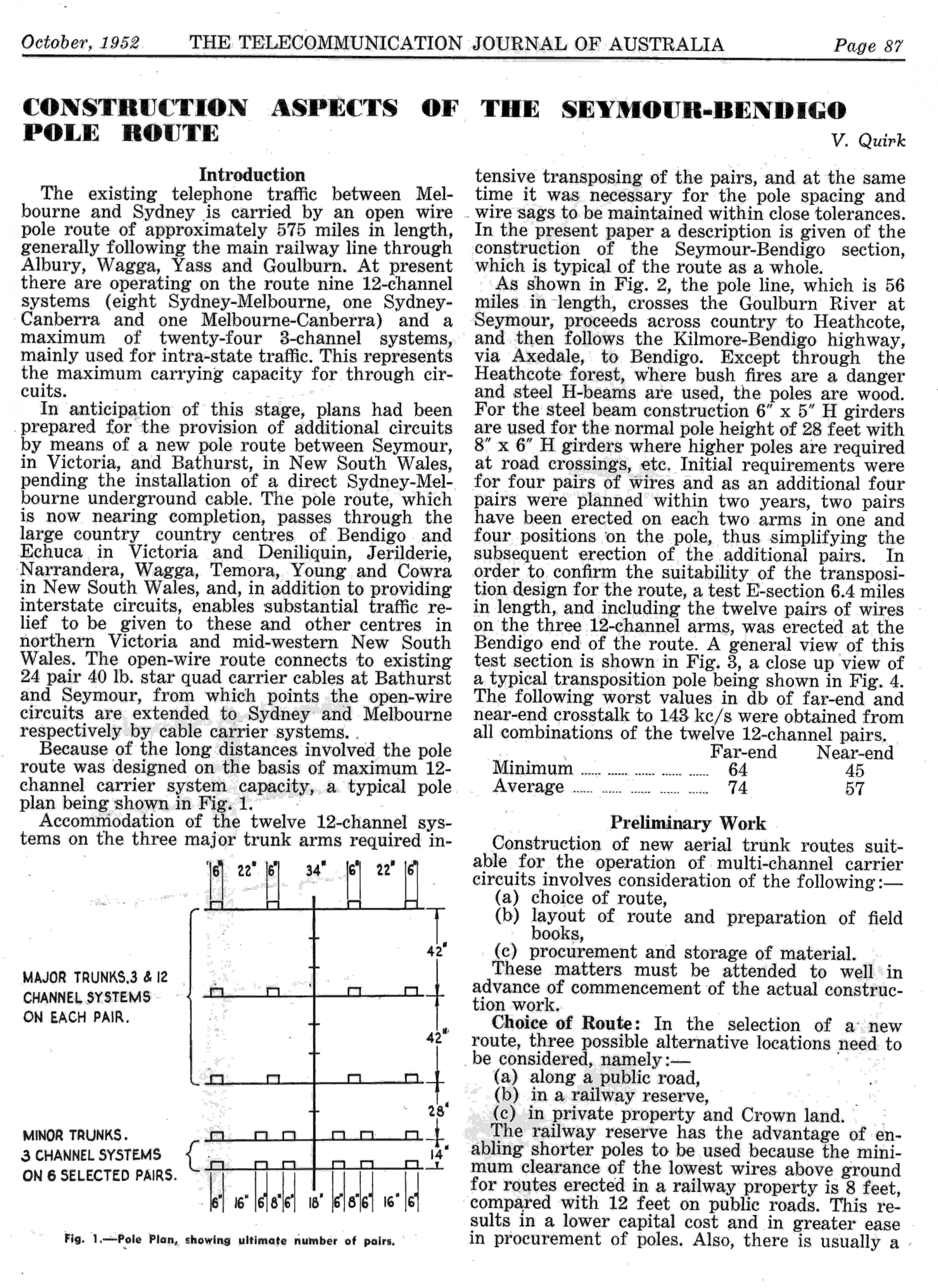 First page of Historical Paper