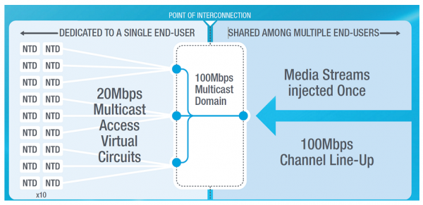 Multicast network design