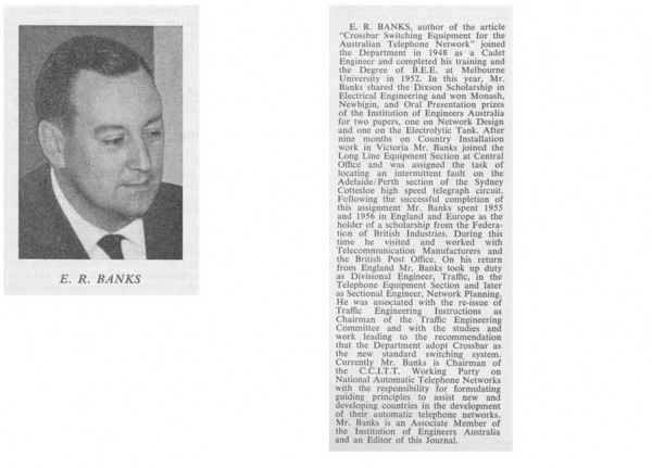 E. R. Banks Photo and Bio Content