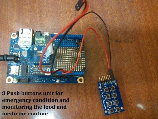 Figure 6. Wellness based manual push button based Indication (alert button) unit