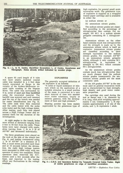 Explosives Near Cables, Page 232