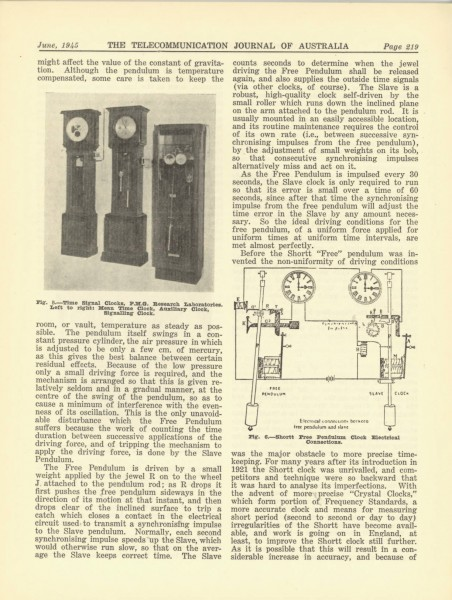 The Victorian Time Signal Service Page 5