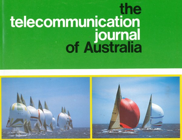 Cover page of historical journal article.