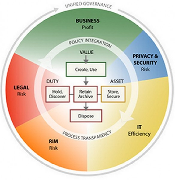 Fig.3 Information Governace Reference Model