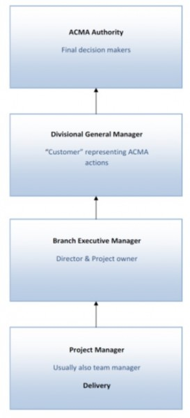 Figure 2.  ACMA Decision Making Hierarchy