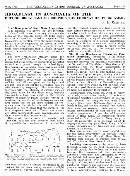Page 1 of historical paper