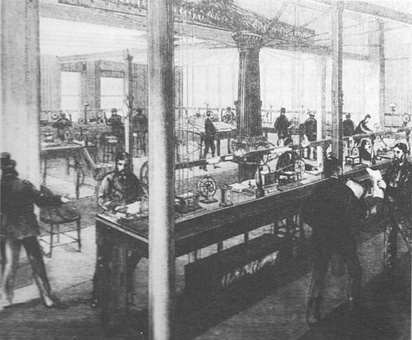Melbourne Telegraphy office c.1870